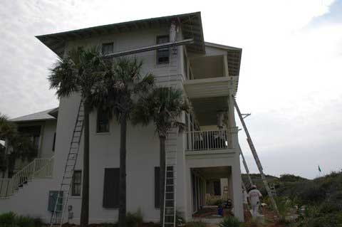 Join Our Team - Harris Painting, Atlanta - Santa Rosa Beach | A typical residencial exterior painting project